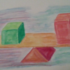 Viereck, Dreieck, Gleichgewicht, Wippen