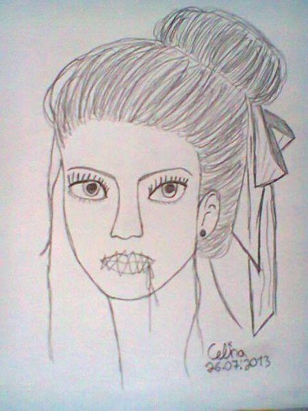 Zeichnungen, Mädchen