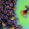 Blüte, Blumen, Acrylmalerei, Malerei