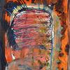 Orange, Tusche, Aquarellmalerei, Gelb