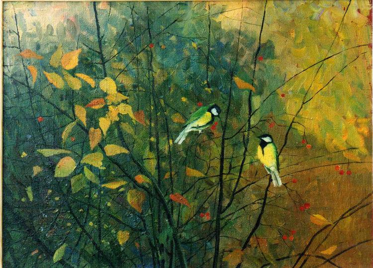 Malerei, Meine bilder, Herbst