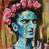 Weinen, Artnight, Frida kahlo, Malerei