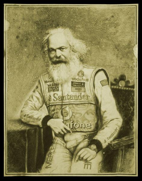 Marx, Realismus, Zeichnungen,