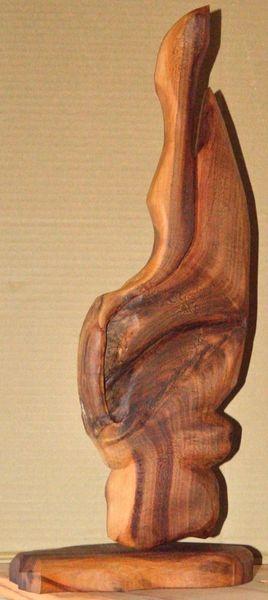 Zwetschgengeist, Skulptur, Abstrakt, Kunsthandwerk