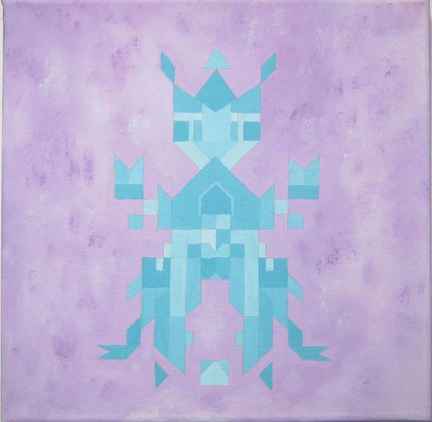 Malerei, Etno, Abstrakt, Pop art, Stadt,