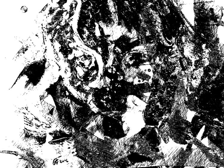 Gesicht, Frau, Menschen, Digitale kunst