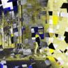 Straße, Menschen, Licht, Digitale kunst