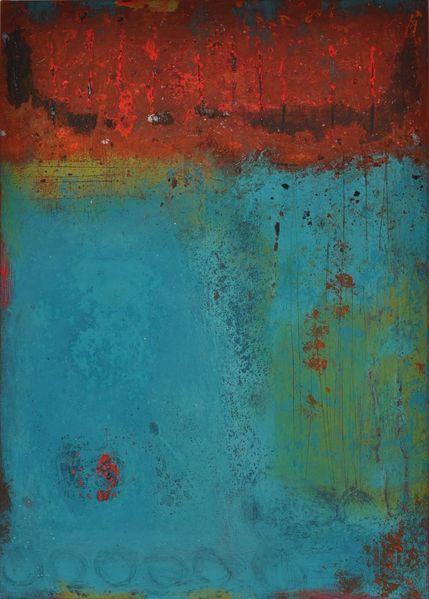 Acrylmalerei, Abstrakt, Mischtechnik, Malerei