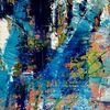 Bunt, Blau, Grün, Malerei