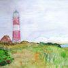 Meer, Ostsee, Leuchtturm, Malerei
