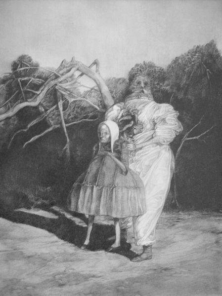Menschen, Surreal, Portrait, Lovecraft, Zeichnung, Horror