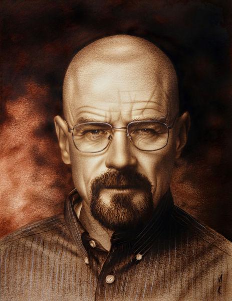 Mensch zeichnen, Zeichnen, Porträt malen, Augen zeichnen, Walter white, Portrait