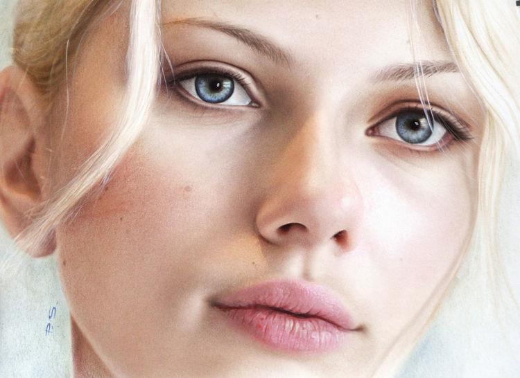 Bilder malen, Nahaufnahme, Portrait, Portrait nach foto, Ölmalerei, Portraitzeichnung