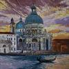 Architektur, Ölmalerei, Venedig, Malerei