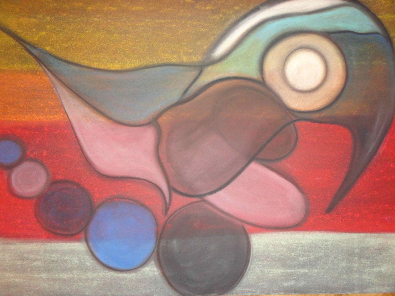 warme farben malerei, warme farben - malerei, farben von ingrid geiger bei kunstnet, Innenarchitektur