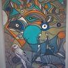 Fisch, Rund, Abstrakt, Gestaltung