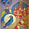 Fantasie, Fisch, Vogel, Wortlos