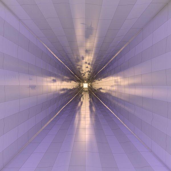 Spiegelung, 3d, Blender, Digitale kunst