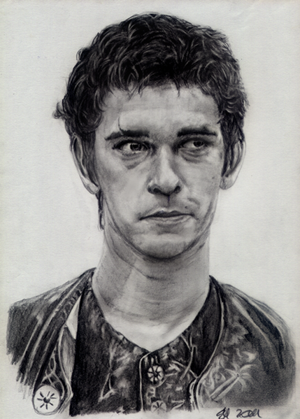 Grenouille, Bleistiftzeichnung, Film, Zeichnung, Whishaw, Portrait