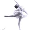 Ballett, Tanz, Schwarz weiß, Bleistiftzeichnung