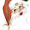 Dezember, Rot, Geschenk, Weihnachtsmann