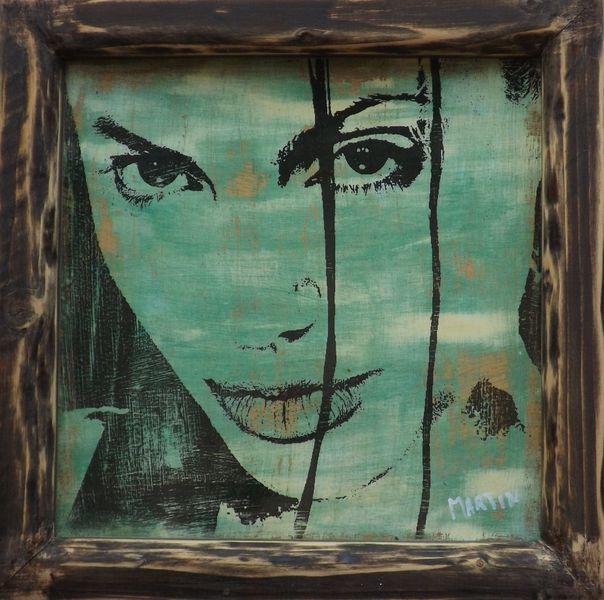 Portrait von prominenten, Porträt kunst, Künstlerische portraits, Abstrakt portrait, Art rabatt, Malerei