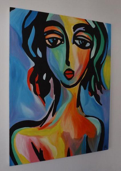 Abstrakte kunstwerk, Günstige kunstwerk, Kunst verkaufen, Künstlerische kunstwerk, Malerei,