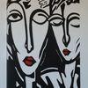Abstrakte kunst, Leinenöl, Wettbewerb, Preis