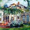 Villa, Gebäude, Bad homburg, Park