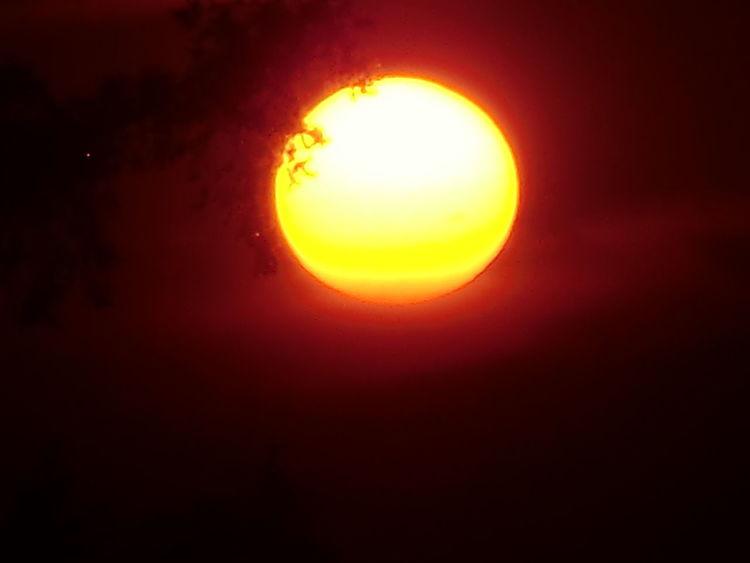 Träumereien, Rot, Reiz, Fotografie, Sonnenuntergang