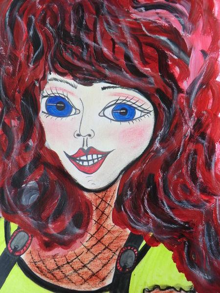 Zora, Reif, Rot, Malerei, Mädchen
