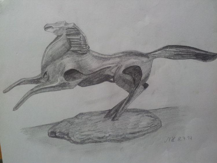 Bleistiftzeichnung, Zeichnungen, Zeichnung