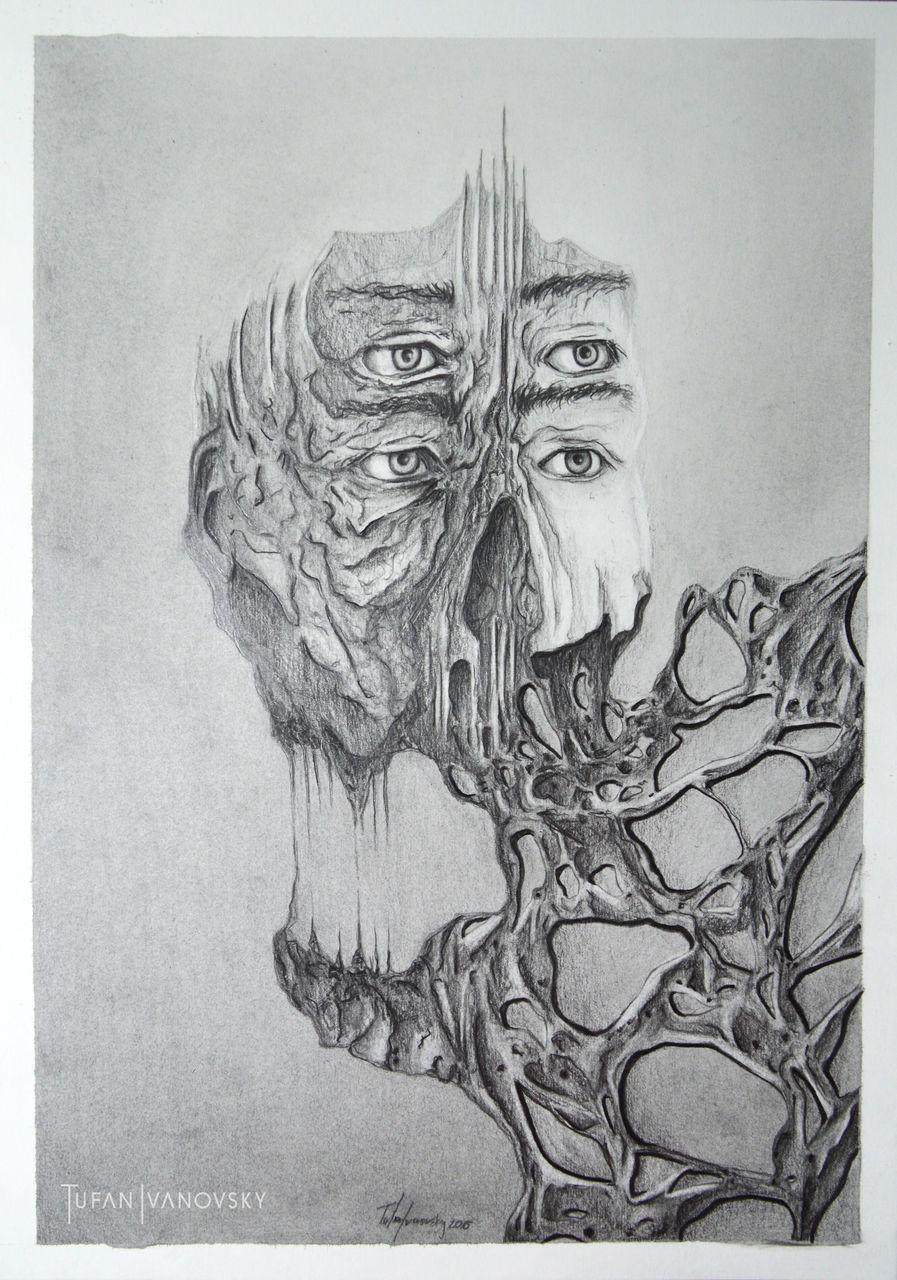 Bild: König, Anatomie, Ewigkeit, Gesicht von Tufan bei KunstNet