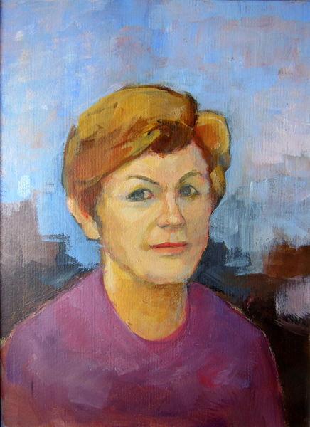 Blond, Blau, Gesichter malen, Augenblick, Malerei, Malen