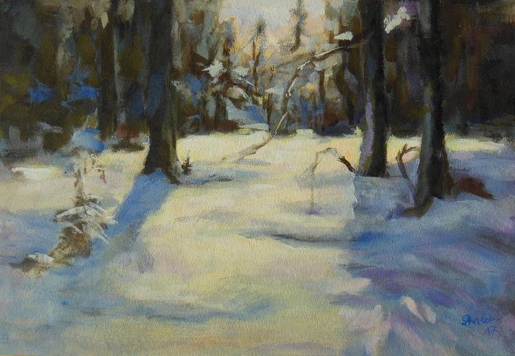 Schönheit, Weihnachten, Herzlich, Stille, Schnee, Winter