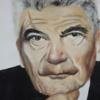 Politik, Portrait, Acrylmalerei, Mann