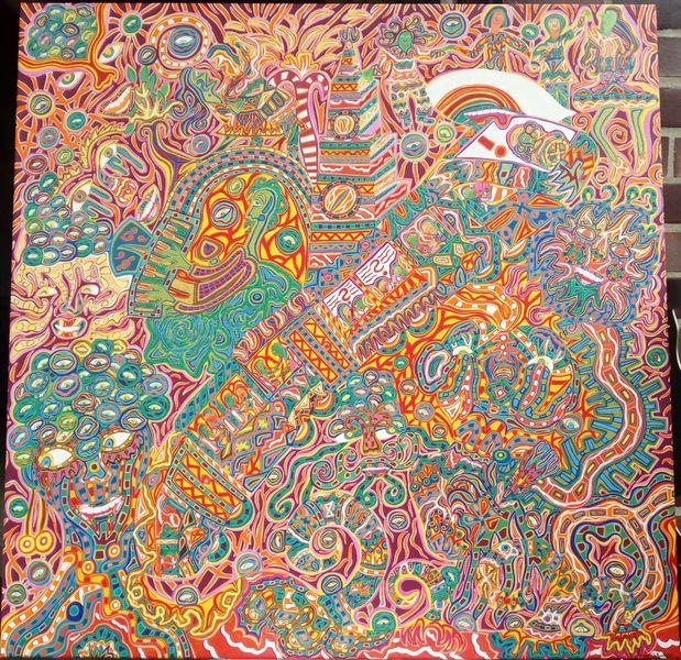 Emotion, Farben, Vielfalt, Malerei, Zug
