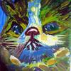 Katze, Blau, Kater, Tiere
