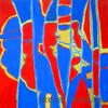 Blau, Dekoration, Design, Abstrakt