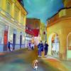 Nacht, Kasyanov, Leuchten, Spaziergang durch recklinghausen