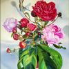 Kasyanov, Libelle, Gemälde, Ölmalerei