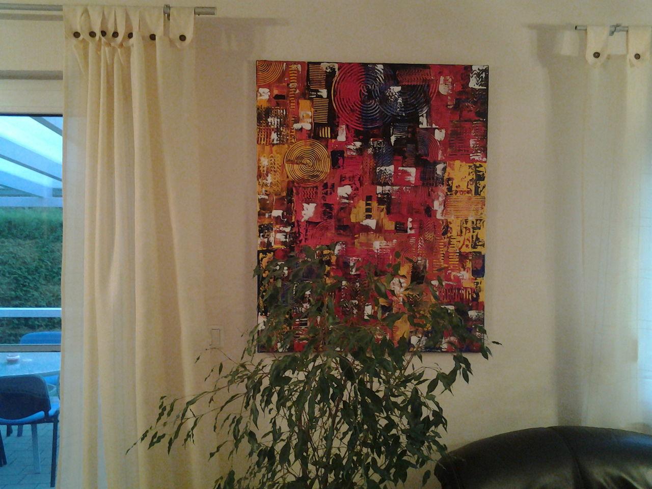 bild abstrakt malerei von 22edith bei kunstnet. Black Bedroom Furniture Sets. Home Design Ideas