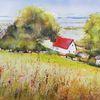 Hiddensee, Haus, Sommer, Meer