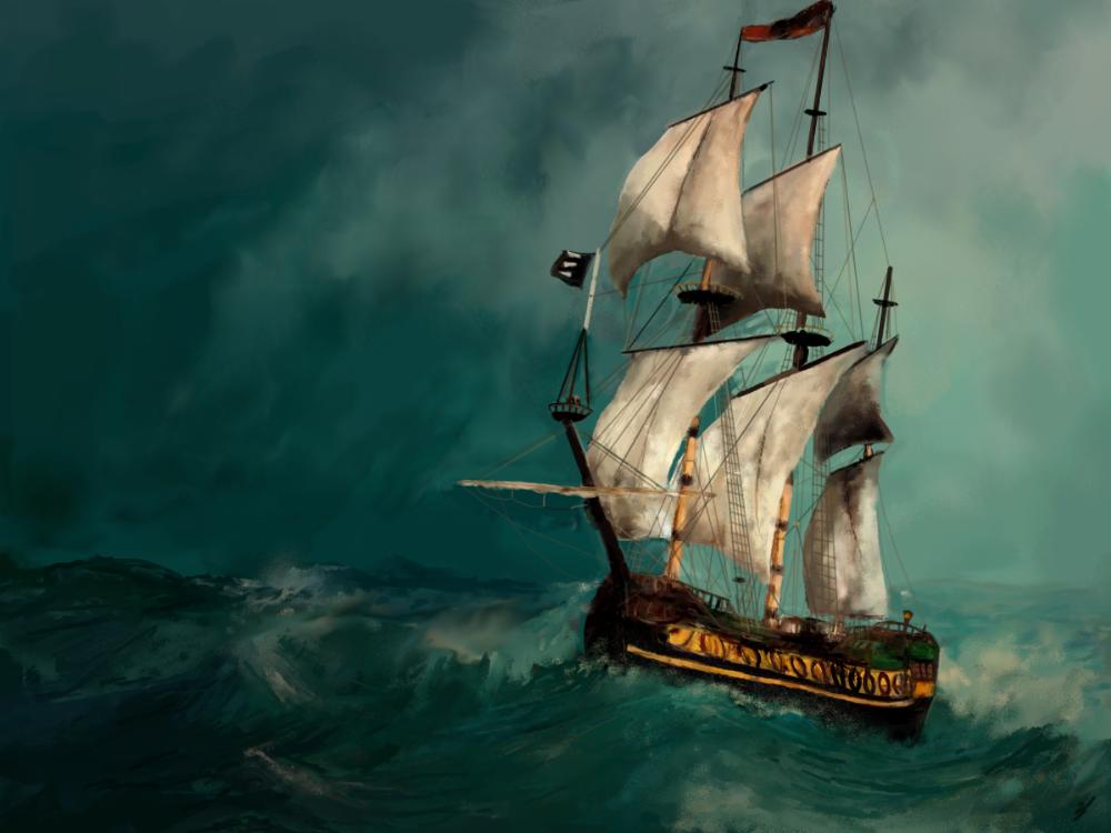 Segelschiffe auf dem meer sonnenuntergang  Segelschiff - 99 Bilder und Ideen auf KunstNet | Meer, Schiff und ...