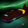 Spaceship mirror - Raumschiff, Science Fiction