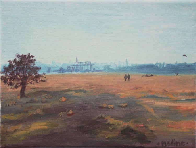 Malerei, Neukölln, Frieden, Berlin, Tempelhofer airport, Tempelhofer feld