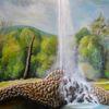 Malerei, Wasser, Naturalismus, Ölmalerei