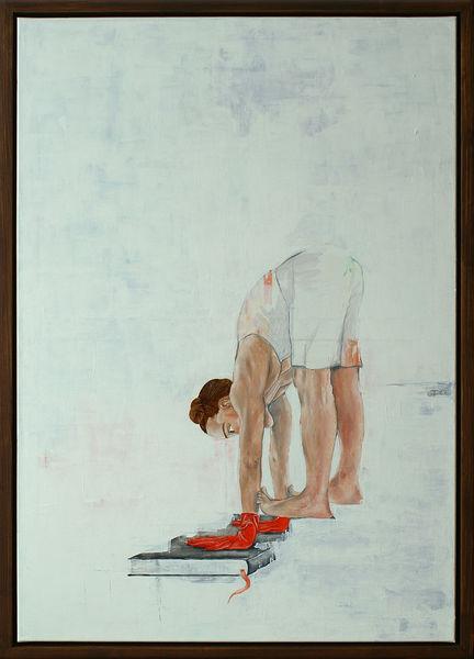 Ölmalerei, Tanz, Frau, Tanzerin, Figurativ, Portrait