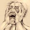 Tod, Stress, Zeichnung, Terror