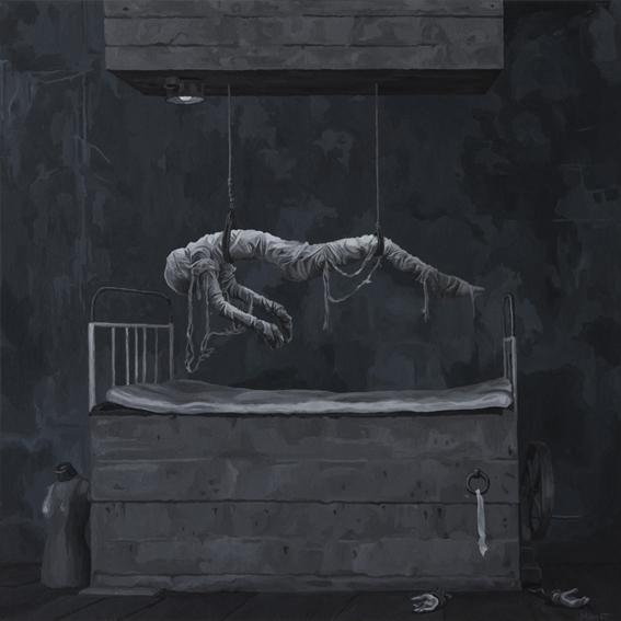 Surreal, Malerei, Acrylmalerei, Figural